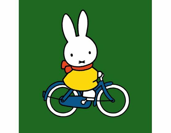 Hype Miffy Greeting Card - Bicycle