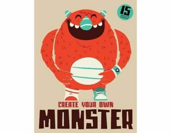 Laurence King Publishing Create Your Own Monster