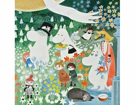 Hype Moomin Greeting Card - Dangerous Journey