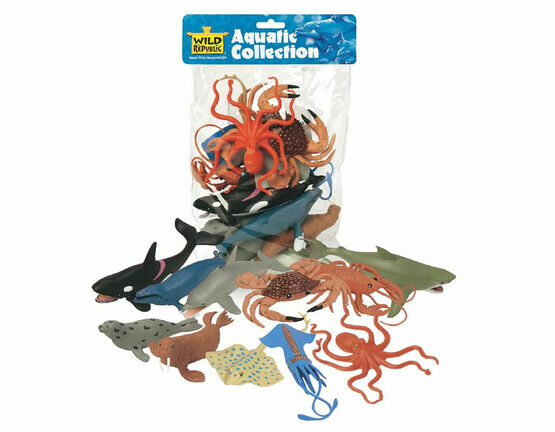 Wild Republic Aquatic Creatures