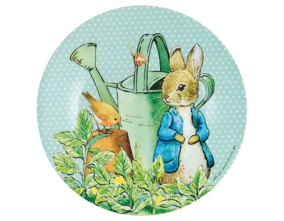 Petit Jour Paris Peter Rabbit Side Plate - Green