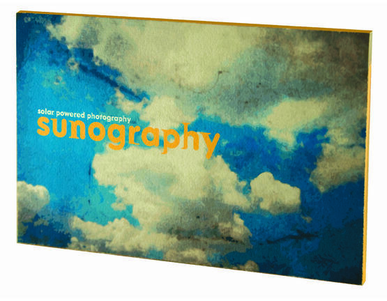 noted* Sunography Paper - Solar Powered Photography!